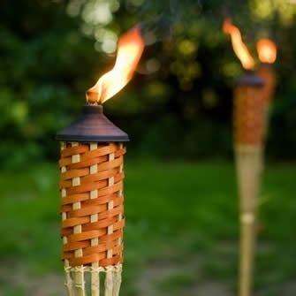 fiaccole giardino candele da giardino complementi arredo giardino