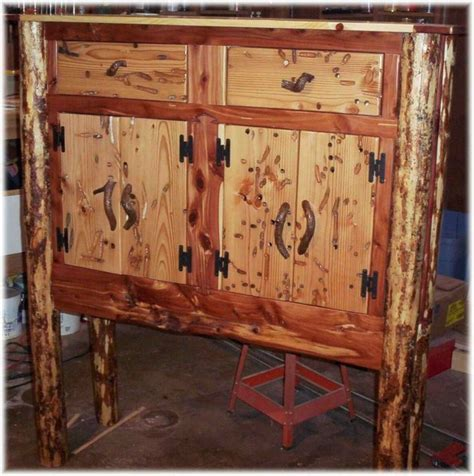 Wormwood Furniture by Made Wormwood Buffet Cabinet By Jeffrey Coleson