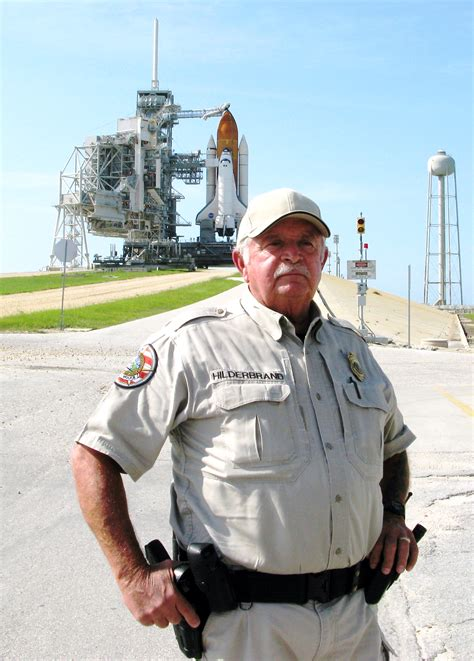 nasa security officer a fixture at launch pad 39