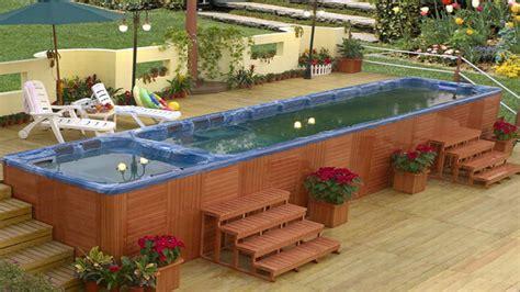 Cheap Backyard Pool Ideas Swim Spas