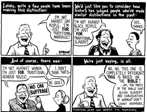 Gay marriage cartoons and comics