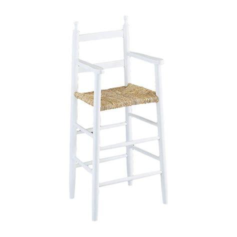 chaise haute chaise haute enfant bois gaspard 4455