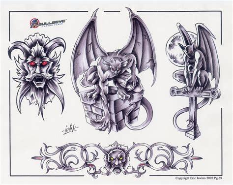 bullseye tattoo new school recherche dessin gargouille modeles maquettes dessins
