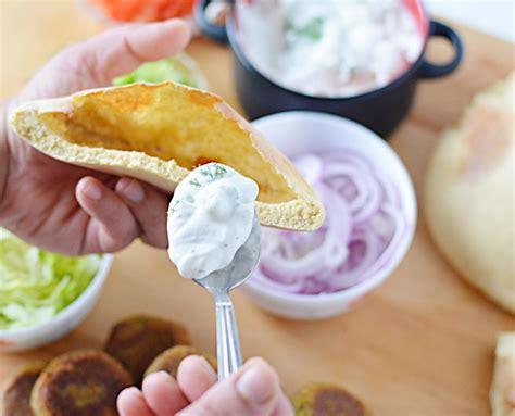 Pita 3 In 1 falafel stuffed in pita pockets