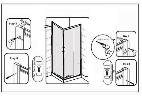 how to fit a shower door how to fit a shower door bath and shower news