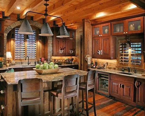 Rustic Chic Kitchen by Farmhouse Style Rustic Home Decor With Rustic Home