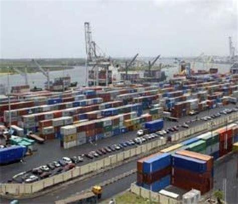 tin can port lagos customs intercept container of ammunition pistol at tin