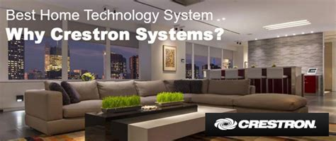 crestron is a best home technology system