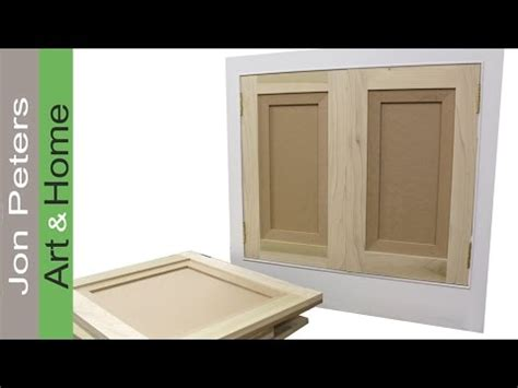 How To Make Hang Flat Panel Cabinet Doors Viyoutube Hang Cabinet Doors