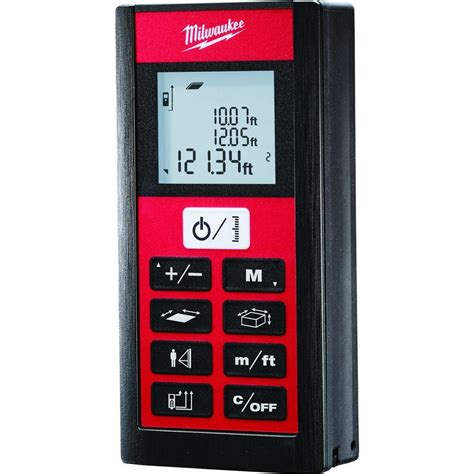 milwaukee 200 ft laser distance digital meter 2281 20