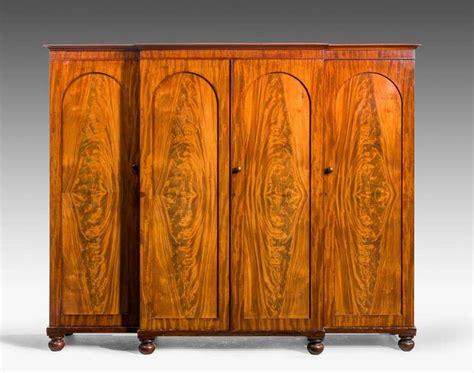 mid 19th century mahogany wardrobe for sale at 1stdibs