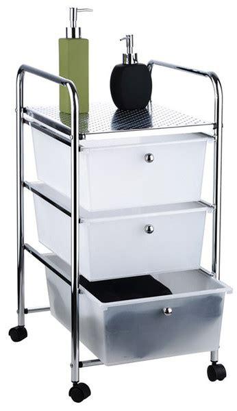 carrelli bagno carrello da bagno con 3 cassetti in acciaio cromato per