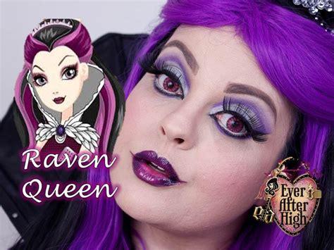 makeup tutorial raven queen veda 27 ever after high raven queen makeup tutorial