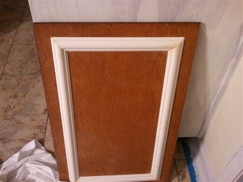 applying wood trim to old kitchen cabinet doors cabinets bad ash crafts