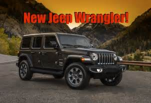 official images of the new 2018 jeep wrangler jl can you