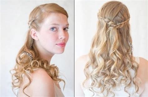 Simple Bridesmaid Hairstyles For Hair by Bridesmaids Hairstyles For Medium Hair