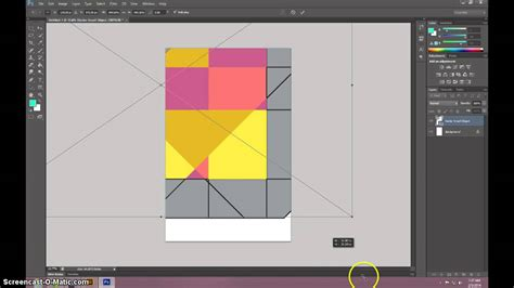 tutorial photoshop illustrator geometric poster illustrator and photoshop tutorial youtube