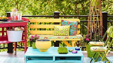 Bricolage Palette Jardin by Collection De Salons De Jardin En Palettes Astuces