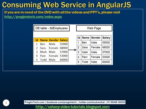 website tutorial in asp net sql server net and c video tutorial consuming asp net