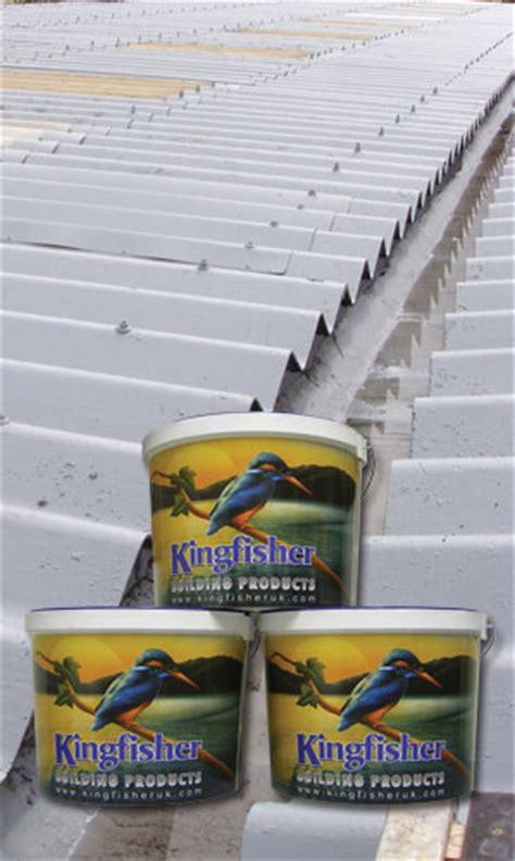 Garage Roof Paint by Asbestos Roof Coating Garage Kit Kingfisher Roof Coatings