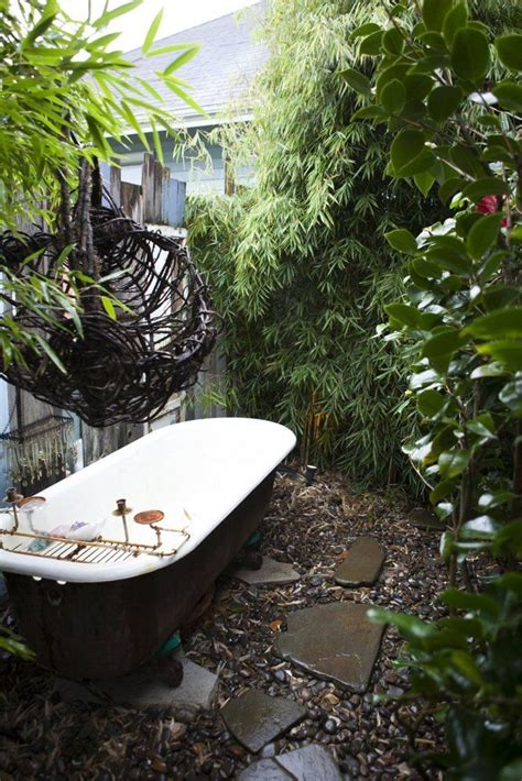 outside bathtub 38 best images about relaxed outside spaces on pinterest