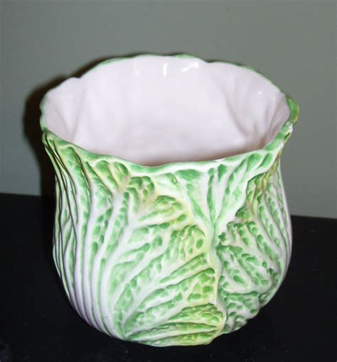 Lettuce Planter by Lettuce Cabbage Flower Pot Vase Planter By Me2uprimitives