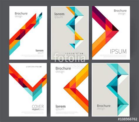 vector leaflet design eps quot set cover for brochure leaflet flyer poster template