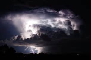 Lightning Cloud Photography Nature Boom Lightning Strikes From