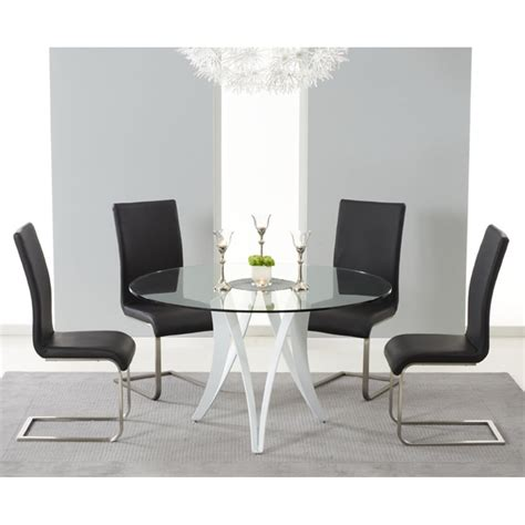 malibu dining table and chairs harris bellevue 130cm glass dining table and 4