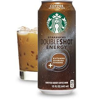 energy drink or coffee starbucks doubleshot 174 energy coffee drink starbucks