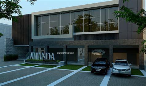 desain eksterior kantor denah new desain dan denah rumah minimalis modern 1 lantai