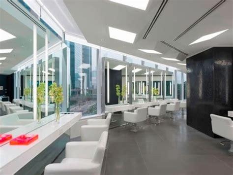 contoh desain interior ruangan salon minimalis  modern