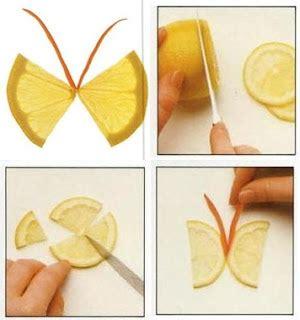 Gigi Delco Model Kupu Kupu kunogi himawari garnish kupu kupu dari lemon