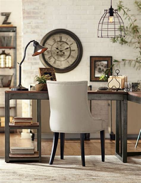 vintage industrial home decor the industrial look office home office pinterest