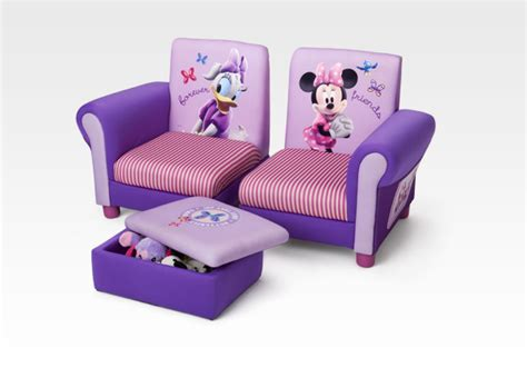 minnie mouse ottoman character furniture minnie mouse sofa ottoman set