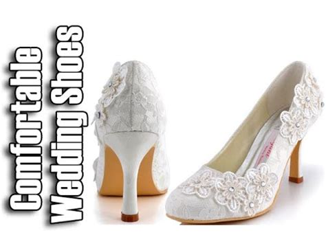 comfortable wedding shoes for bride comfortable wedding shoes wedding shoes for bride youtube