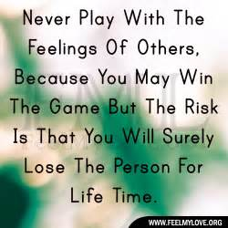 Of others because you may win the game but the risk is that you
