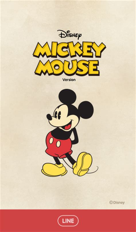 theme line mickey line official themes mickey mouse vintage style