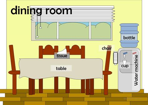 rooms in the house rooms in a house flashcards worksheet free esl