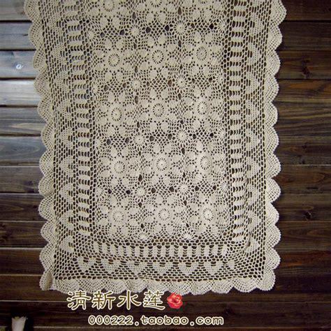 Zakka Vintage Table Runner aliexpress buy zakka fashion cotton crochet table