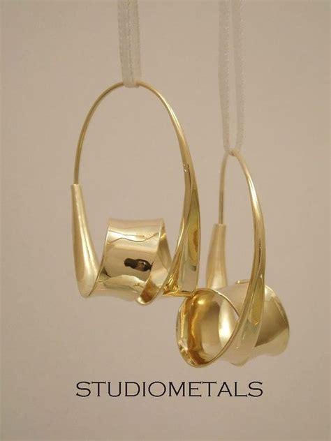 My Earring 1195 oh my gold hoop earrings large gold hoops 14k gold by