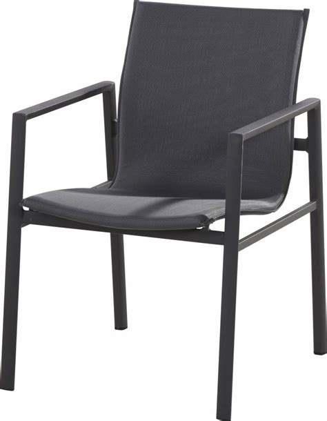 stacking armchair albion stacking armchair in anthracite springbed