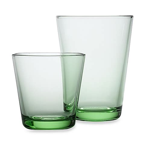 bed bath and beyond glassware iittala 174 kartio glassware in apple green bed bath beyond