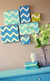 good home decor art on diy modern chevron art home decor