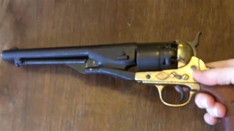 Army 45 Revolver Blank Firing denix 1860 army revolver non firing replica gun