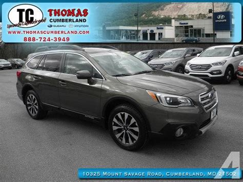 2015 Subaru Outback 2 5i Limited 2015 Subaru Outback 2 5i Limited Awd 2 5i Limited 4dr
