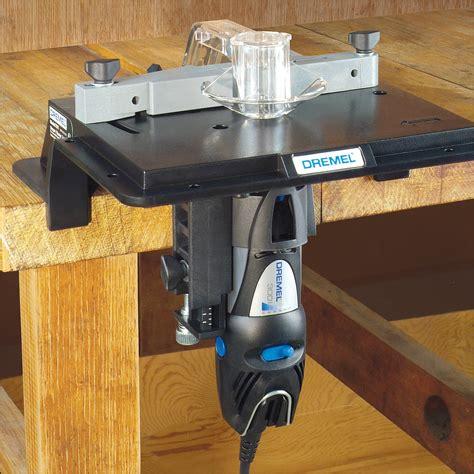 dremel table saw dremel shaper table attachment