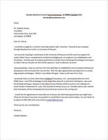 Exle Cover Letters For Internships by How To Write A Letter Asking For An Internship Quora