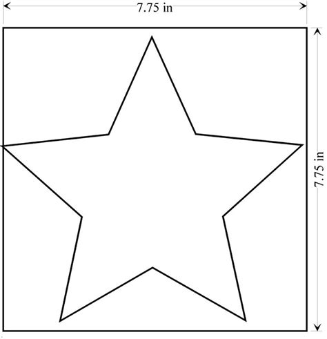 printable yellow stars to cut out best photos of large star template large star template