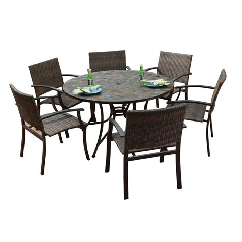 Patio Dining Sets And Wicker On Outdoor Chairs Clearance